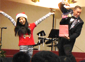 Gregg Ka-zam performs Christmas magic show in Plano
