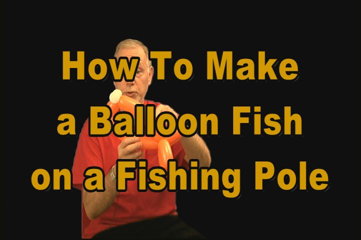 How To Make A Fish On A Fishing Pole