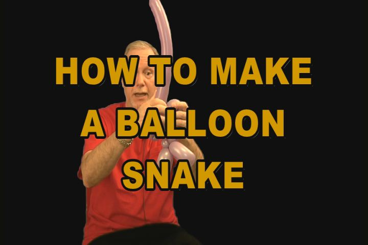 How To Make A Balloon Snake
